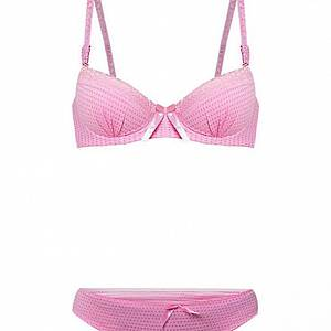 YOu ve Bra Set Vinset 871 Pink