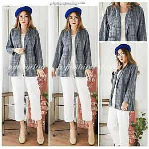 Pm tartab plaid blazer