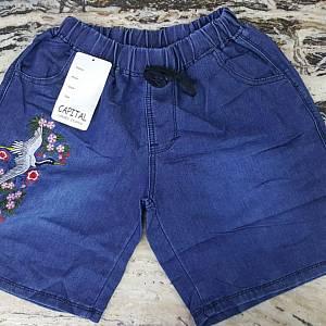 DLine 3/4 Pants Bordir - Dark Blue