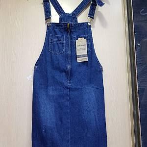 DLine Denim Zipped Overall - Blue