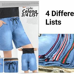 Dline 3/4 Pants List - Light Blue