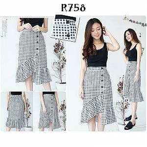 R758 skirt  grosir