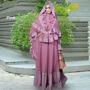 yuna syari pink