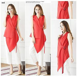Red assymetric top