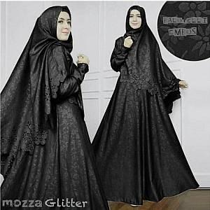 46-Mozza Glitter hitam