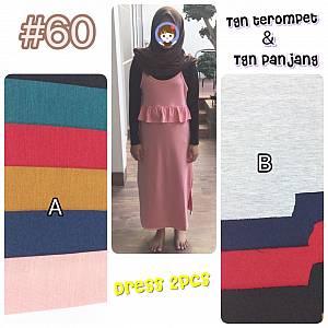 Dress 2pcs (lepasan)