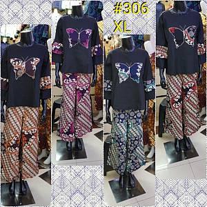 Stelan Batik Kulot Panjang