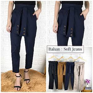 Tali kancing 6 soft jeans