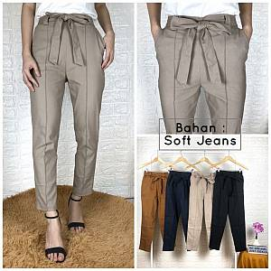 Tali pensil bahan soft jeans