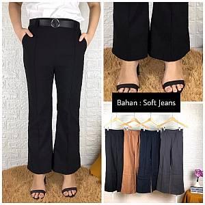 Kulot Stik Lurus soft jeans
