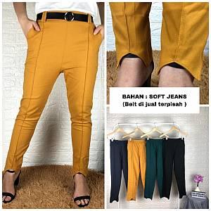 Coak lurus soft jeans