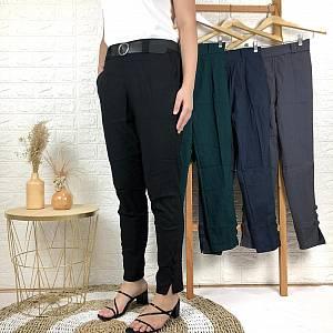 Kaki kancing soft jeans