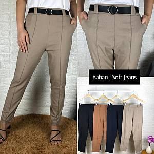 Stik Lurus bahan soft jeans