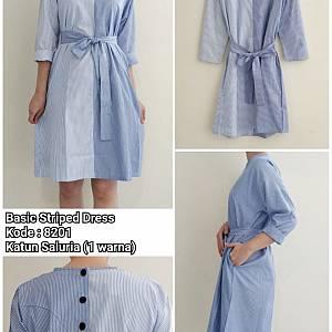 Soya Basic Striped Dress