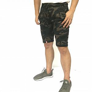Celana pendek dark green army