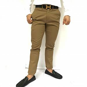 Celana chinos brown