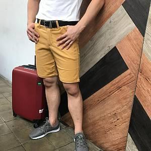 Yellow Mustard Chinos Shorts