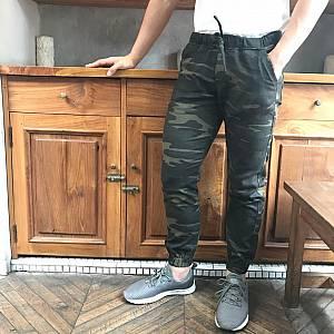 Green army joggerpants