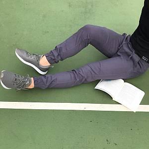 Violet grey joggerpants