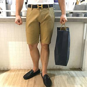 Celana Pendek Twill stretch