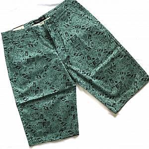 Celana chinos motif