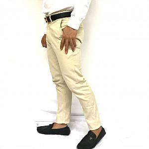 Celana chinos broken white