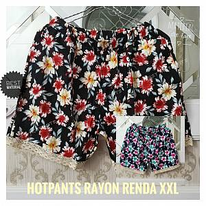 Hotpen Rayon Kembang Renda XXL