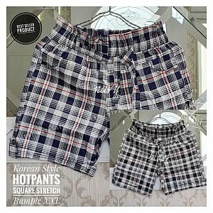 Hotpants Kotak Stretch Rample XXL