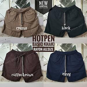Hotpen Basic Khaki Rayon Allsize