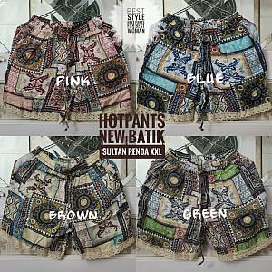 Hotpants New Batik Sultan Renda XXL