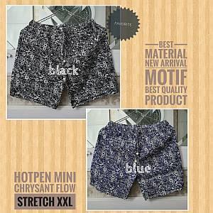 Hotpants Mini Chrysant Flow Stretch XXL