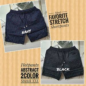 Hotpants Abstract 2Color Stretch XXL