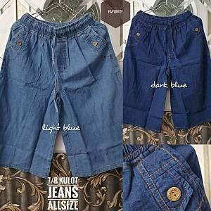 7-8  Kulot Jeans Allsize