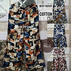 Best Kulot Nirina Viscose Cotton XXL Pants