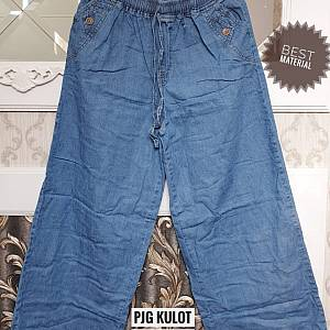 Pjg Kulot Jeans Light blue