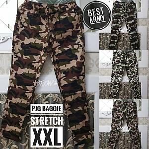 Pjg Baggie Army Stretch XXL