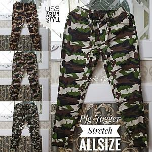 Jogger Army Stretch Allsize