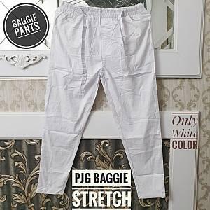 Pjg Baggie Ribbon Pants White XXL
