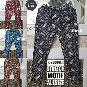 Pjg Jogger Batik Stretch Allsize