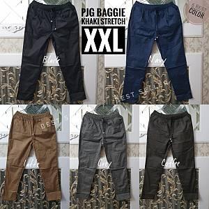 Pjg Baggie Khaki Stretch XXL