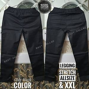 Legging Hitam Stretch XXL