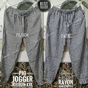 Jogger Rayon Houndstooth XXL
