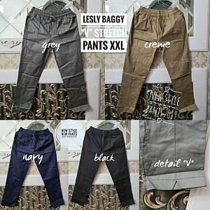 Lesly Baggy V Stretch Pants XXL
