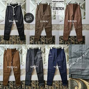 Pjg Korean Junghu Baggypant Stretch Allsize