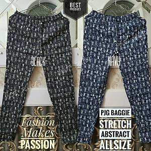 Pjg Baggie Abstract Stretch Allsize