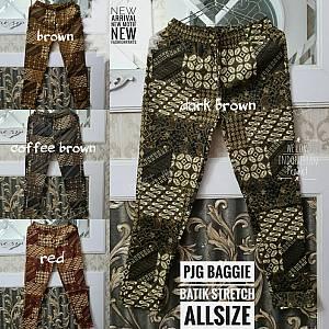 Pjg Baggie Batik Stretch Allsize