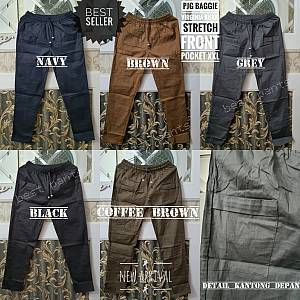 Pjg Virila Khaki Stretch Front Pocket XXL