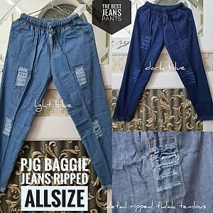 Pjg Baggie Ripped Jeans Rumbai Allsize