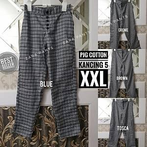 Pjg Baggie Cotton Kancing 5 XXL