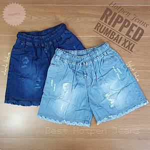 Hotpen Jeans Washed Ripped Rumbai XXL
